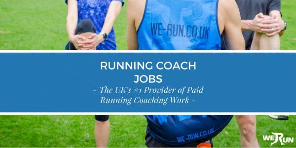 running coach jobs - we run