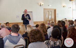 too fat to run - tim public speaking