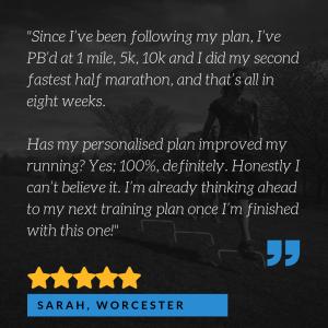 benefits of a running training plan